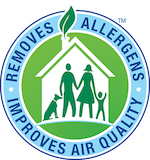 We can remove up to 98% of household allergens