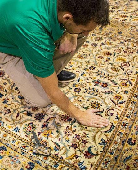 Professional Area and Oriental Rug Cleaning by Chem-Dry of North County